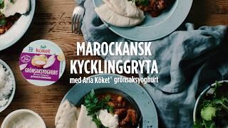 Marockansk kycklinggryta - Nu är det enkelt att äta mer grönt    Arlaköket