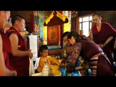 Enthronement of Senghe Wangyal Rinpoche