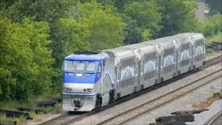 AMT COMMTER TRAINS IN MONTREAL