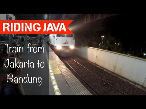 A Train Ride to Bandung | Traveling with Mark #5