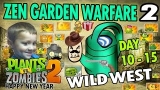 Dad & Chase play PVZ Zen Garden Warfare 2! (HAPPY NEW YEARS GLITCH!) Wild West Days 10-15(Dad & Chase are back with more PVZ 2, It's About Time! We are playing our ZEN GARDEN WARFARE where we tackle one of our older 2 levels still waiting to ..., 2014-12-31T23:37:45.000Z)