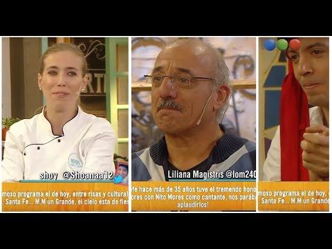 Emotivo homenaje a Mariano Mores de su nieto: