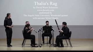 Thalia's Rag wind quintet live performance with original limericks