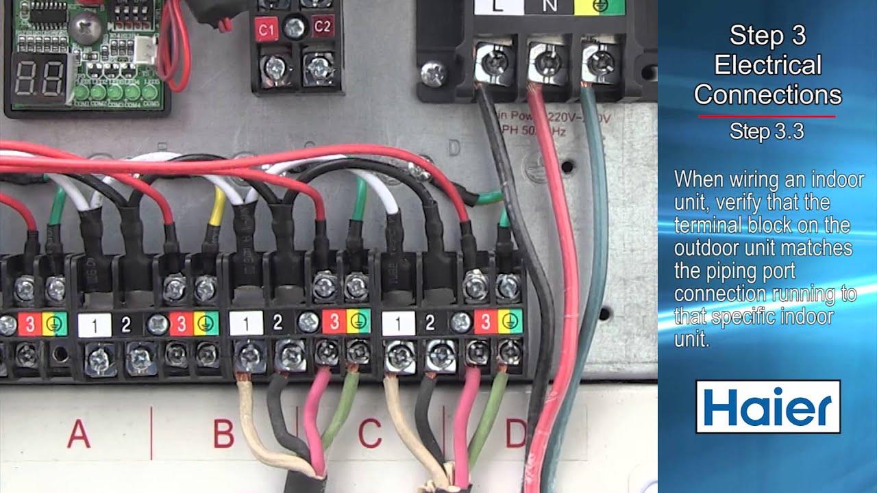 medium resolution of haier outdoor unit installation video youtubehaier outdoor unit installation video