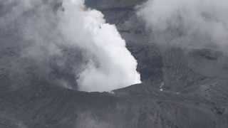 阿蘇山が爆発的噴火 36年ぶり、10県で降灰予想