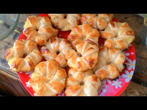 Pineapples Puff Pastry Dough Recipe - Russian Dessert