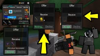 ROBLOX   ASSASSIN: HUGE DONATION - BUNDLES AND RARE KNIVES (SHOUTOUTS TO CHCCON)