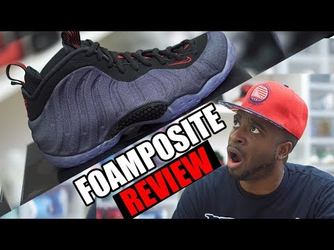 Styling the Air Foamposite One 'Denim