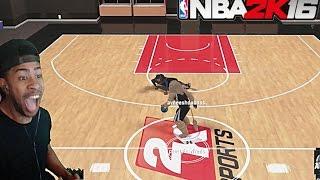 NBA 2K16  EXPOSING TRASH TALKER 1v1 MYCOURT!! +  Funny Moments with fans @ MyPark pt. 3