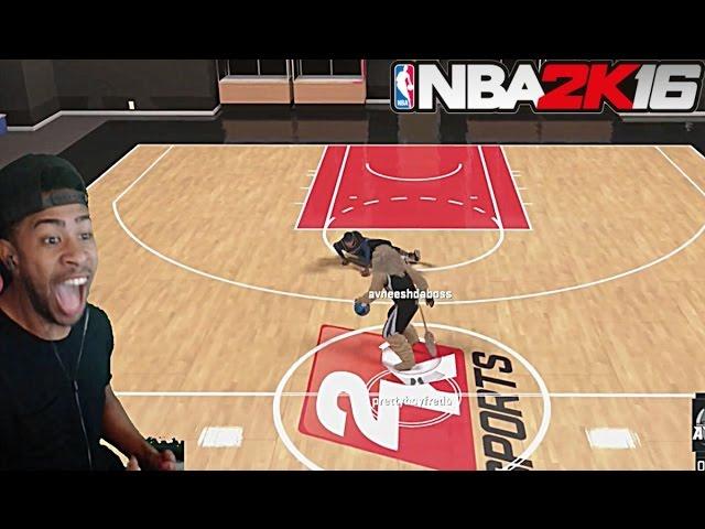NBA 2K16| EXPOSING TRASH TALKER 1v1 MYCOURT!! +  Funny Moments with fans @ MyPark pt. 3