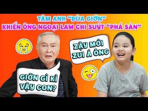 Gia đình là số 1 phần 2 ep cut 104: Ông ngoại Lam Chi gặp tai họa cực lớn vì lời nói đùa của Tâm Anh