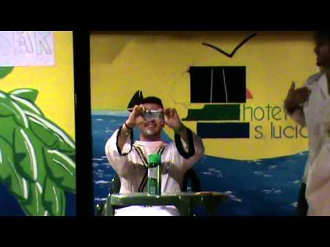 Hotel Santa Lucia - Pì&Tò - Sketch Cabaret - Il Barbiere di Siviglia (ANIMAZIONE 2011)