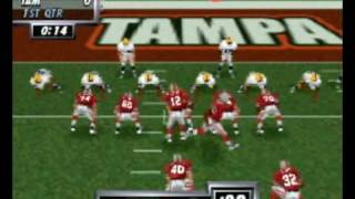 Madden 64 - N64 Gameplay
