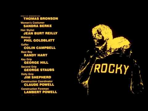 Rocky II End credit- Rocky Movie