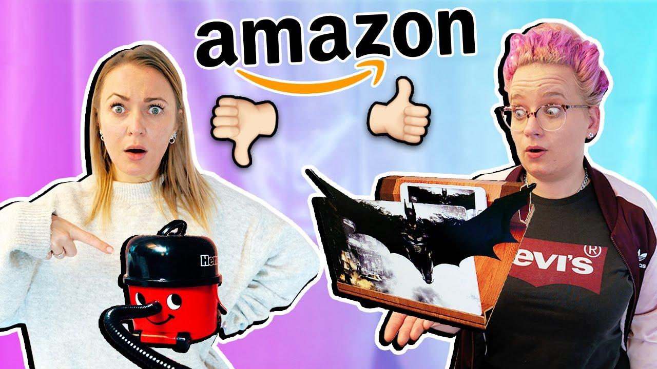 WIR TESTEN VERRÜCKTE AMAZON GADGETS! Witzige & ausgefalle Weihnachtsgeschenke
