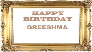 Greeshma   Birthday Postcards & Postales - Happy Birthday
