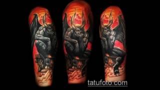 Значение тату черт - подборка классных татуировок на фото (devil tattoo) (видео)