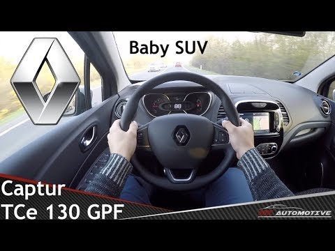 Renault Captur Tce 130 Gpf Pov Test Drive Acceleration 0 200