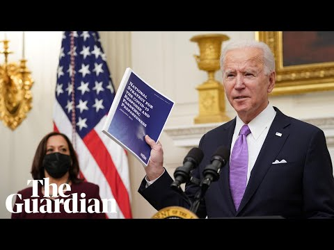 Joe Biden introduces coronavirus economic relief plan – watch live