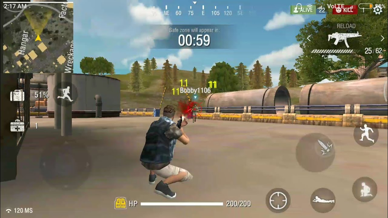 Free Fire Battleground Android Multiplayer Online Fps Game