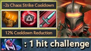 1 Dagger to Kill [Enchant Totem + Chaos Strike = 1 hit challenge] Dota 2 Ability Draft