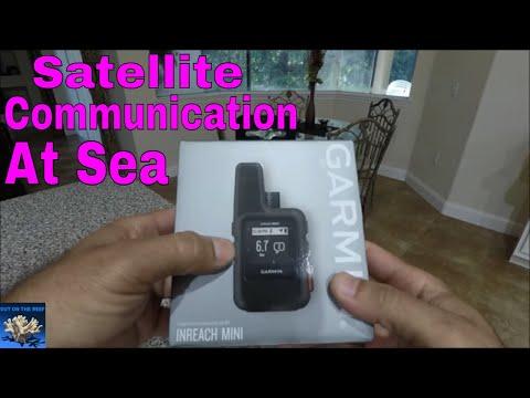 Garmin InReach Mini Locator Satellite SOS, For Marine Aviation Use