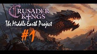 Crusader Kings 2 The Middle Earth Project 1 Дракон из Мории