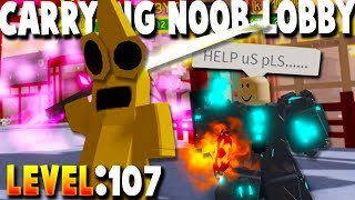CARRYING MY ENTIRE LOBBY IN SAMURAI PLACE!! (Roblox Dungeon Quest Update)