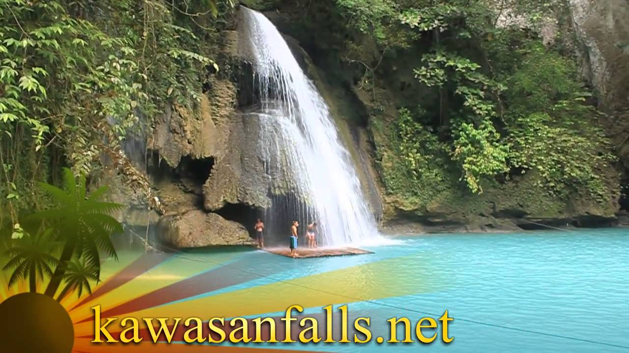 World 39 S Most Beautiful Waterfalls Kawasan Falls Cebu Philippines Youtube