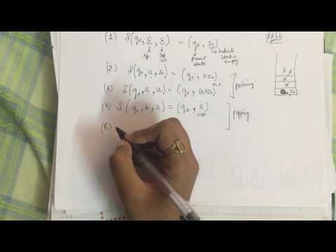 Designing PDA | Pushdown Automata | Theory of Computation(TOC)