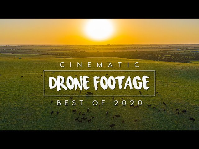 CINEMATIC DRONE FOOTAGE / BEST of 2020!