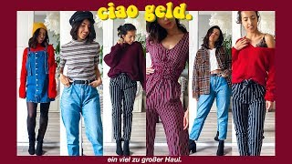 Whoops sry, ciao Geld | xxl Try on Haul