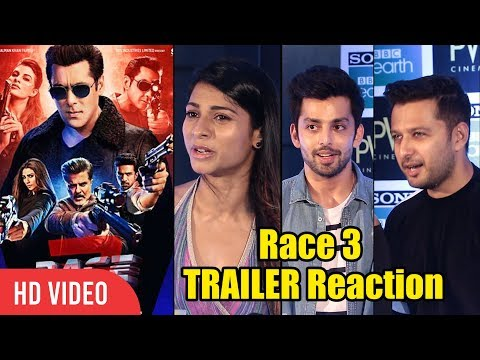 Celebrities Reaction On Race 3 Trailer | Salman Khan | Jacqueline Fernandez