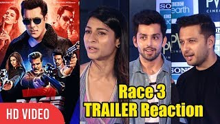Celebrities Reaction On Race 3 Trailer | Salman Khan | Jacqueline Fernandez