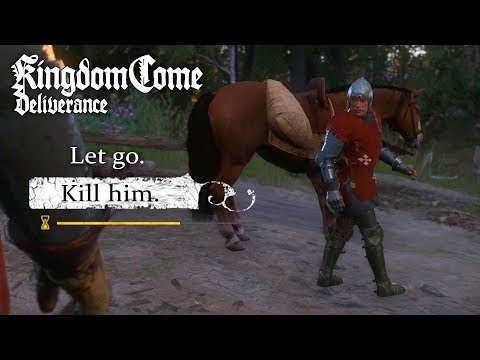 KILL vs LET GO ULRICH CHOICE - Kingdom Come: Deliverance - All That Glisters Quest (MYSTERY KNIGHT)
