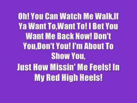 Lyrics Search high heels