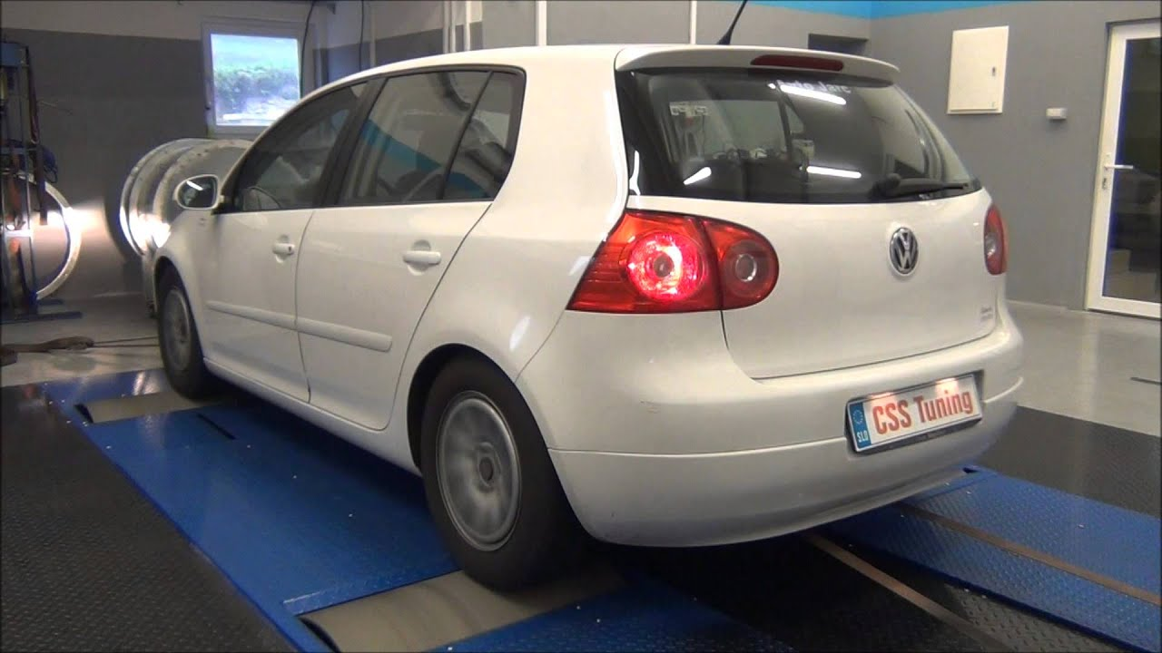 css performance vw golf v 1 9 tdi 90 hp youtube. Black Bedroom Furniture Sets. Home Design Ideas