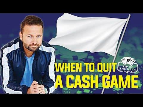 When To Quit A Poker Game