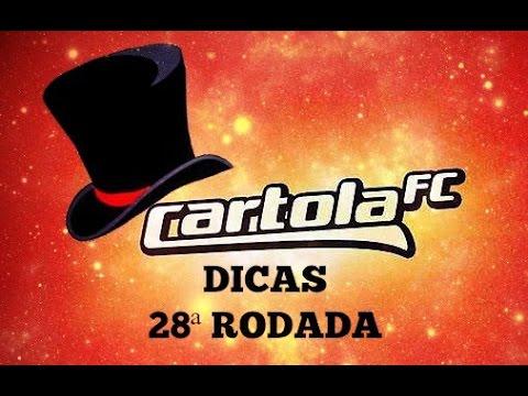 DICAS CARTOLA FC 2016 #28 RODADAS DICAS