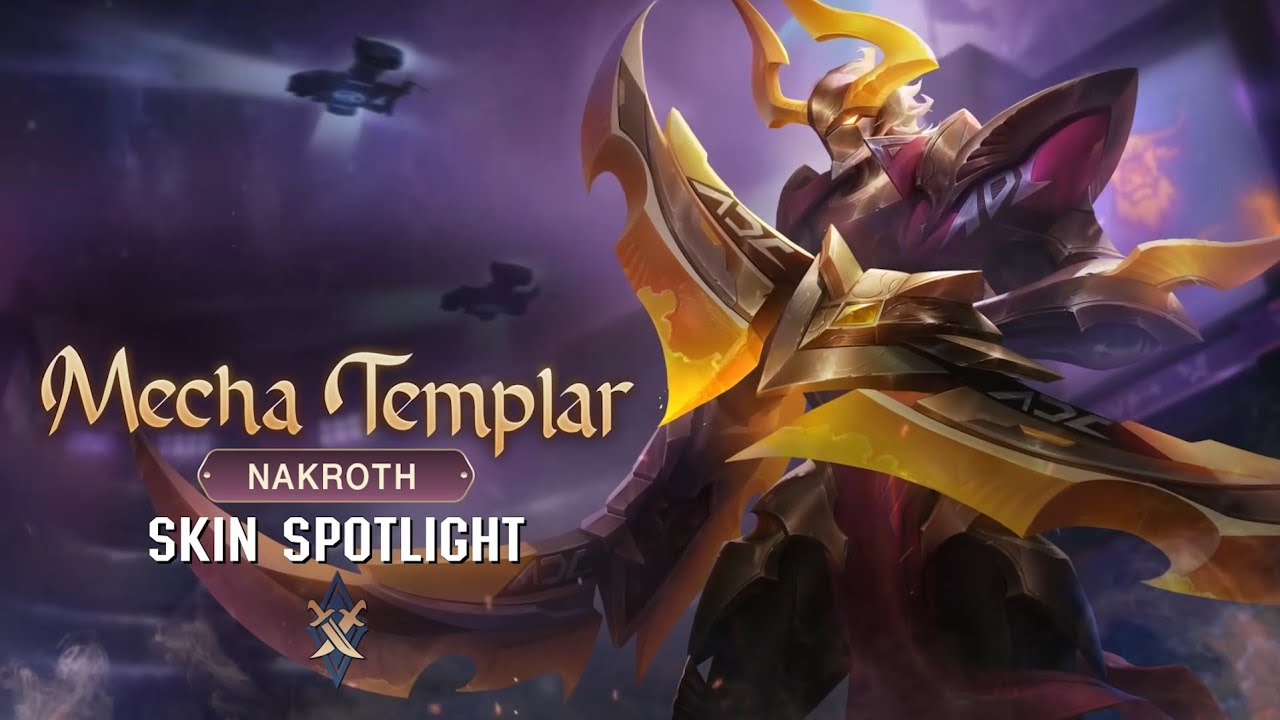 SKIN Spotlight | Mecha Templar Nakroth