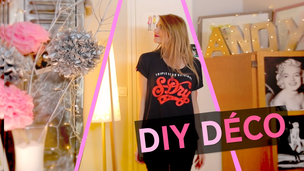 Diy id es d co youtube - Idees deco originales ...