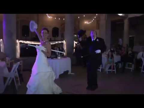 Best Ever Wedding Father Daughter Dance Broadway Style!