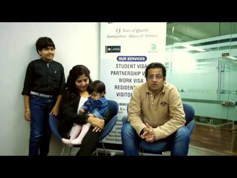 IANZ Client Client Stories |  Dhaval Trivedi and his Family | Student Visa and Family Visa