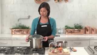 How To Make Stew In The Calphalon Pressure Cooker | Williams-sonoma