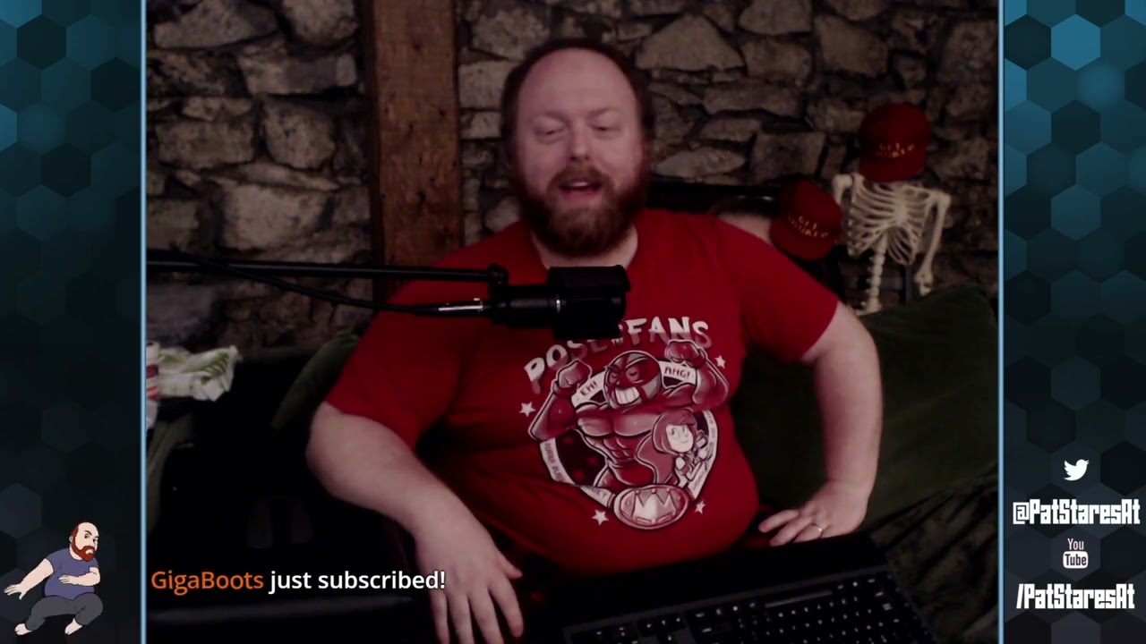 Pat Stares At Resident Evil Village! (Part 1)