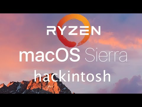 Ryzen 1700 Mac OS Sierra Install w 1070 and cuda