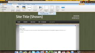 Embed Google Docs into Weebly