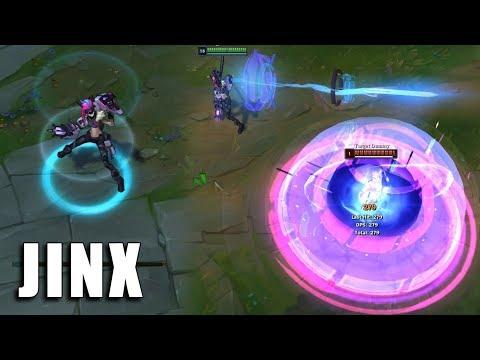 PROJETO Jinx - League of Legends (Prévia)