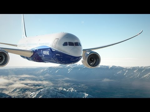 Boeing 787-10 Dreamliner First Flight