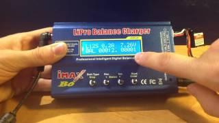 Cargar la batería del coche - Utilización del cargador Imax B6